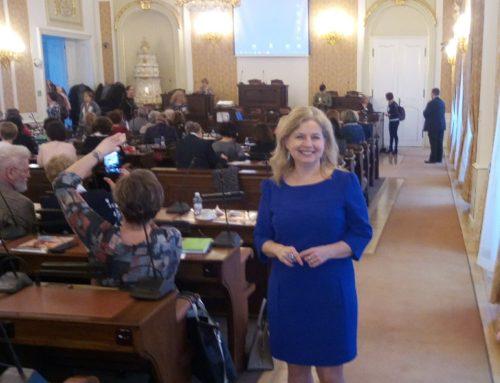 20 let trénování paměti jsme dnes slavili v Parlamentu ČR